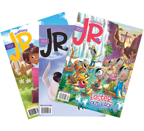 Clubhouse Jr. Magazine Subscription - 36 Issues (3 Years, For Ages 3-7)
