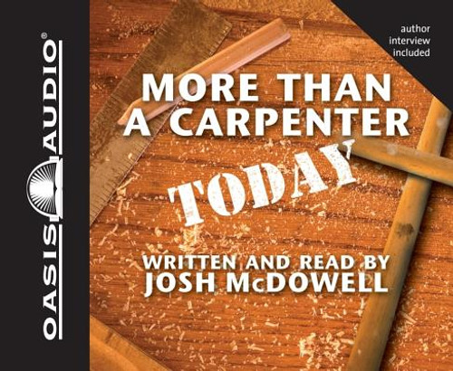 More Than a Carpenter Today (Audiobook)