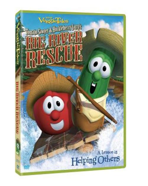 VeggieTales: Tomato Sawyer and Huckleberry Larry's Big River Rescue