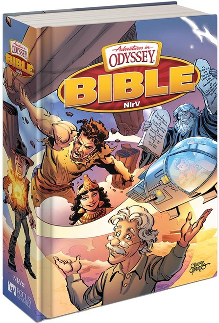 NIrV Adventures in Odyssey Children's Bible - Hardcover