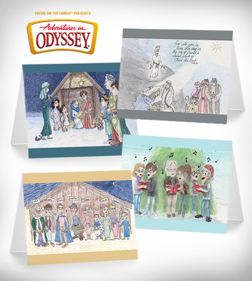 Adventures in Odyssey Christmas Cards