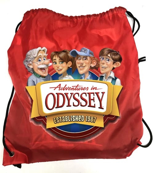 Adventures in Odyssey Cinch Sack