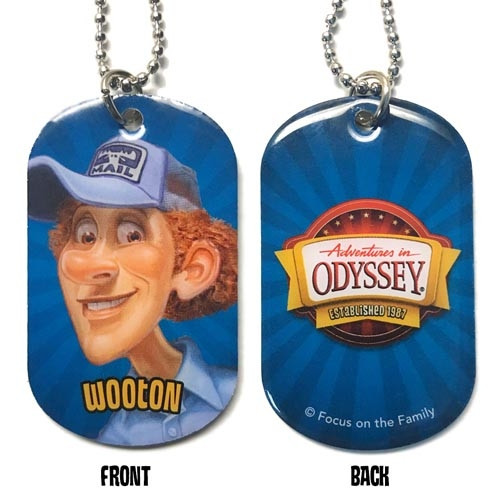 Adventures in Odyssey Dog Tags - Wooton