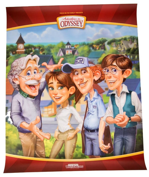 Adventures in Odyssey Fab 4 Poster
