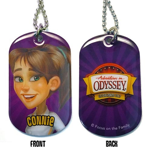 Adventures in Odyssey Dog Tags - Connie