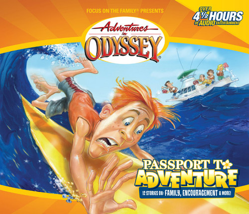 Adventures in Odyssey #19: Passport to Adventure (Digital)