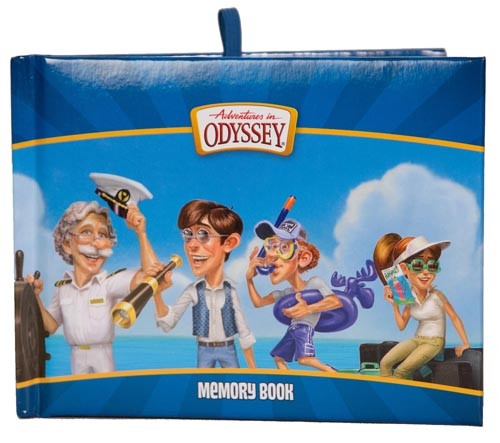 Adventures in Odyssey Memory Book - Cruise Characters