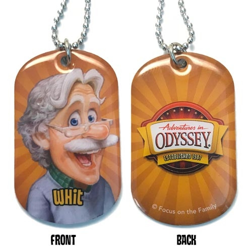 Adventures in Odyssey Dog Tags - Whit