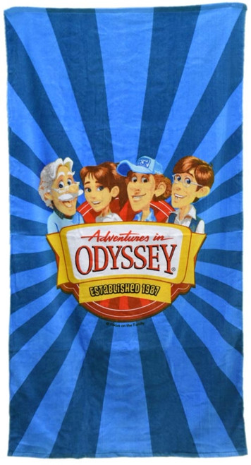 Adventures in Odyssey Beach Towel