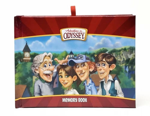 Adventures in Odyssey Memory Book - Town Characters