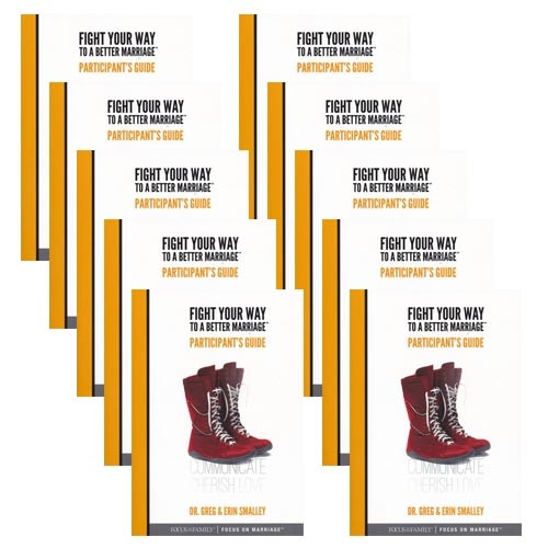 Fight Your Way to a Better Marriage Participant's Guide - 10-Pack