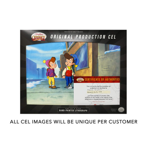 Adventures in Odyssey Animation Cel - Premium