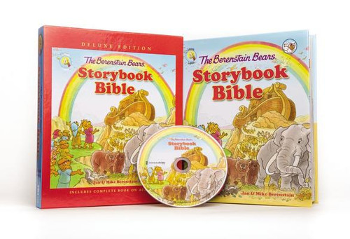 The Berenstain Bears Storybook Bible [With CD (Audio)]