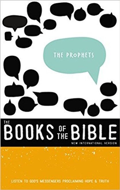 The Books of the Bible: The Prophets, Hardcover, NIV
