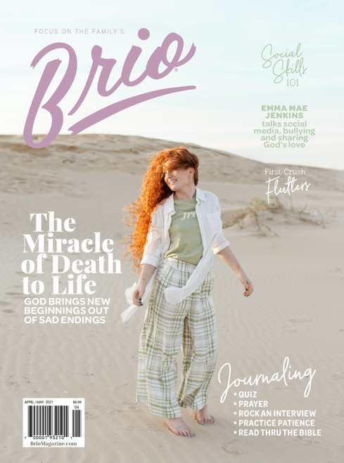 Brio Magazine Subscription - 6 Issues, 1 Year (For Teen Girls)