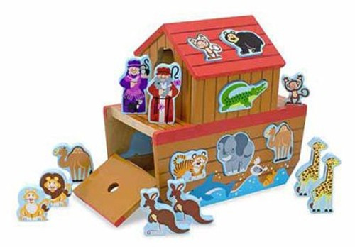 Melissa and Doug - Noah's Ark Wooden Shape Sorter