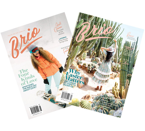 Brio Magazine Subscription - 12 Issues, 2 Years (For Teen Girls)