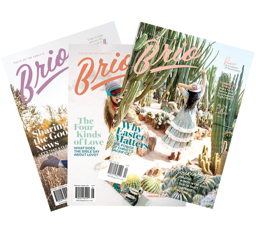 Brio Magazine Subscription - 18 Issues, 3 Years (For Teen Girls)