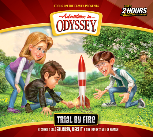 Adventures in Odyssey #66: Trial By Fire (Digital)