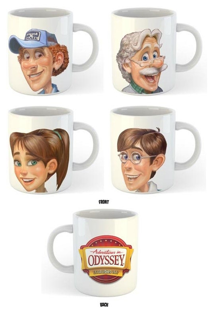 Adventures in Odyssey Coffee Mug Set