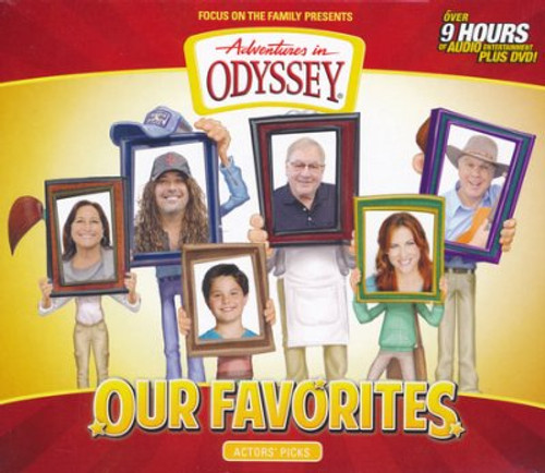 Adventures in Odyssey: Our Favorites - Actors' Picks (With DVD)