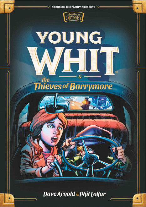 Young Whit and the Thieves of Barrymore (Young Whit #3)
