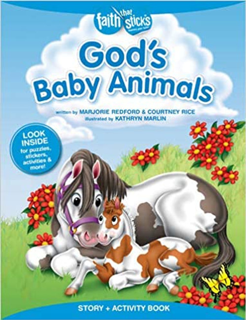 God's Baby Animals Story + Activity Book