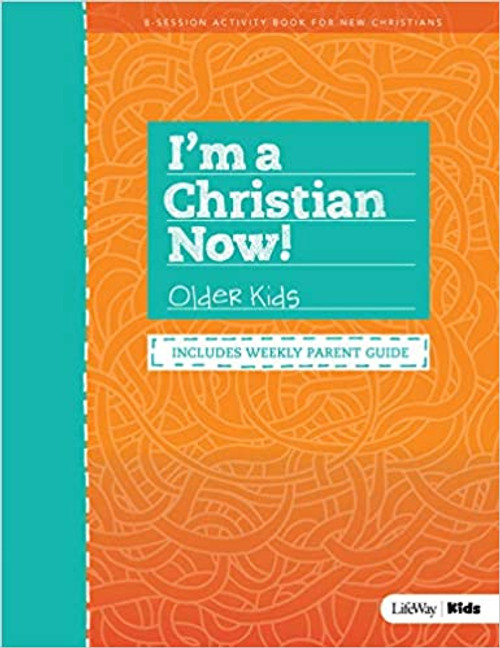 I'm a Christian Now! Older Kids Activity Book Revised (Revised)