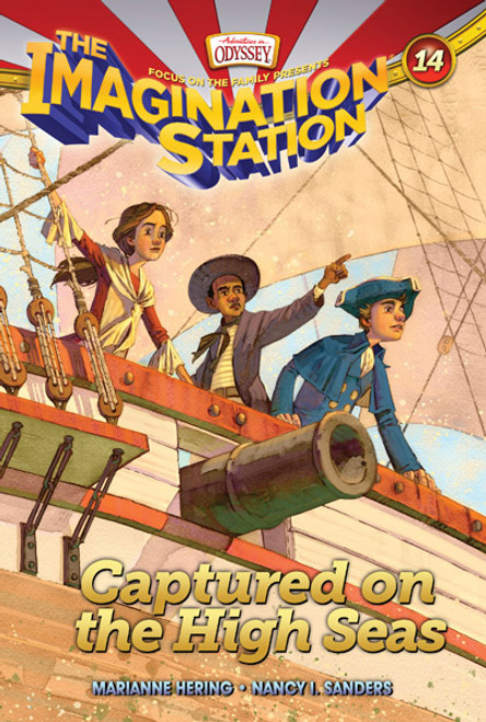 Adventures in Odyssey Imagination Station #14: Captured on the High Seas (Digital)
