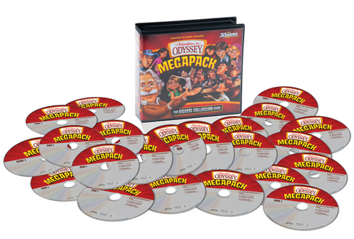 Adventures in Odyssey Megapack CD Library - 75 Episodes on 25 CDs