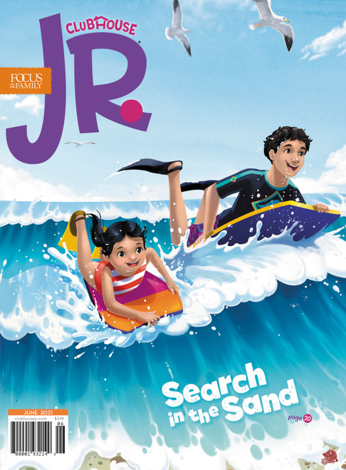 Clubhouse Jr. Magazine Subscription - 1 Year + 2 Free Issues (For Ages 3-7) 1