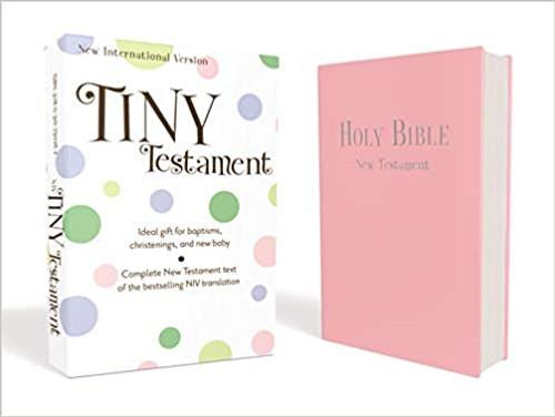 Tiny Testament Bible-NIV (Pink)