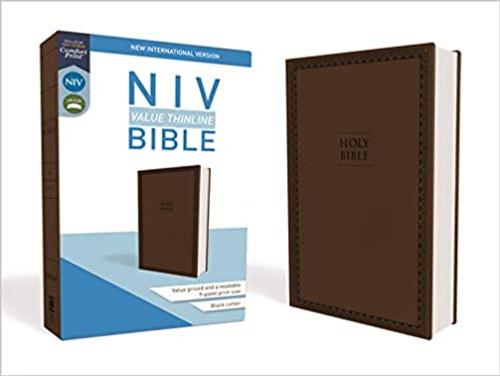 NIV, Value Thinline Bible