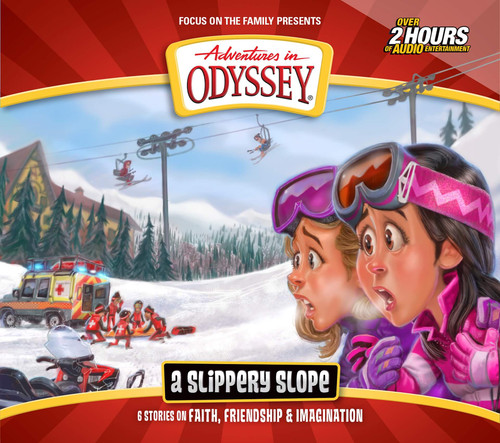Adventures in Odyssey #71: A Slippery Slope (Digital Audio Download)