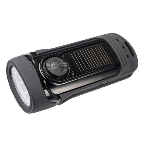 Barracuda - Solar & Wind-up LED Torch - top