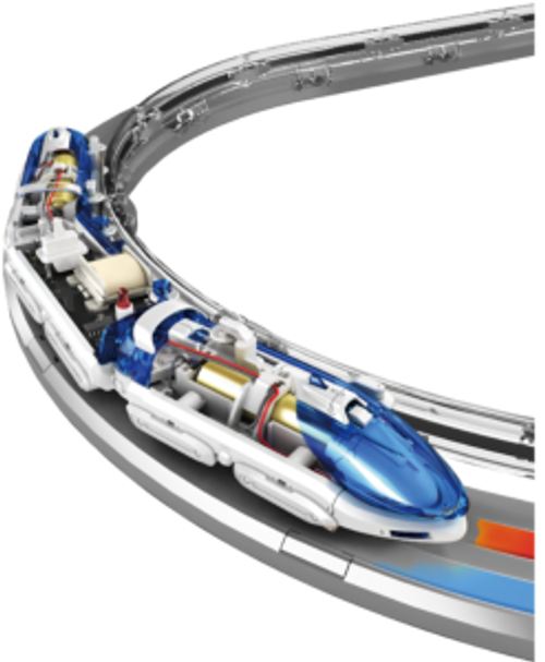 Floating Magnetic Train - Educational Toy