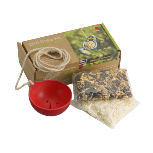 Eco Bird Cake Kit-red