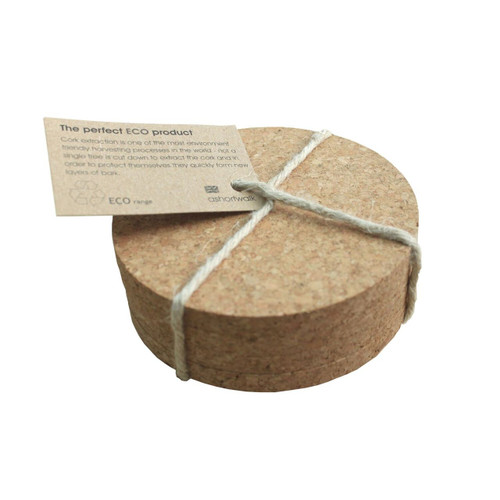 Coaster cork set x 4