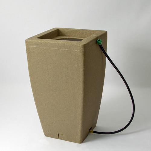 Madison 185 litre Rain Barrel in Sandstone colour