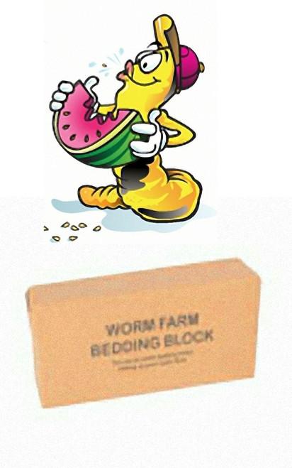 Yard Art Pet Loo Worm Starter Pack - Additional Coir Block