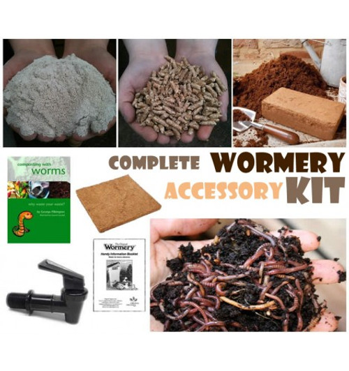 Complete Wormery Accessory Kit