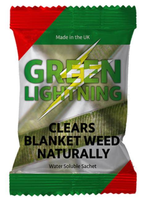 GREEN LIGHTNING Blanket Weed  Removal