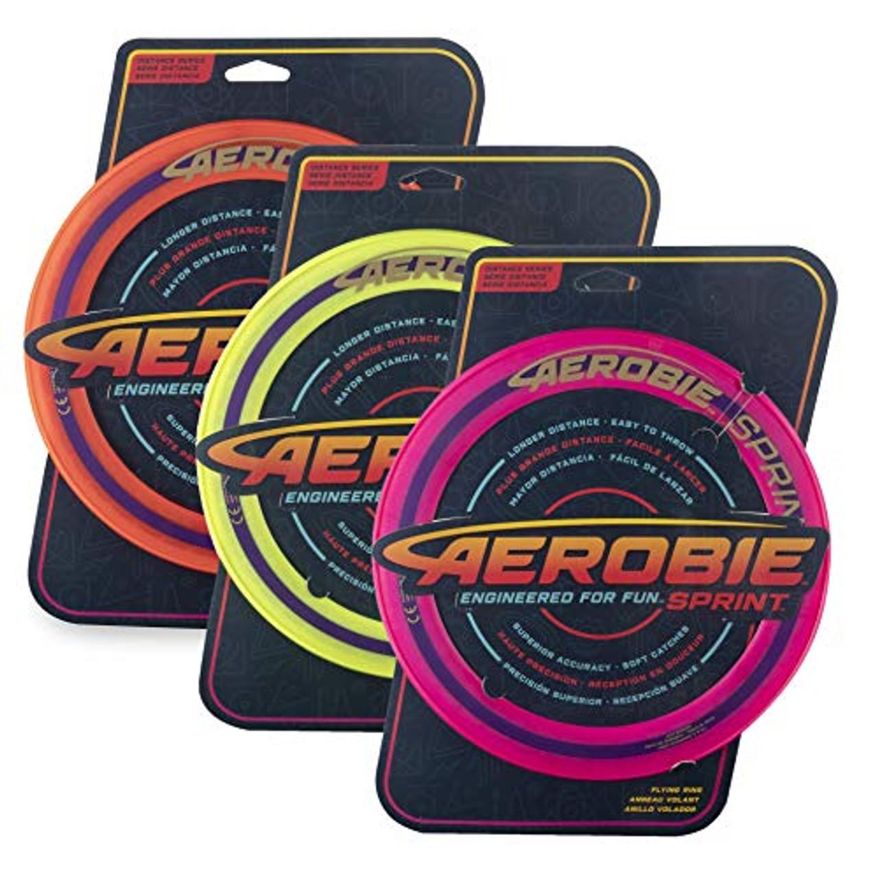 10 Diameter Assorted Colors Aerobie Sprint Flying Ring
