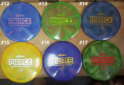 Discraft Buzzz - 2020 Paige Pierce Tour Series - Z Swirl Line - | 5 | 4 | -1 | 1 | - Stable-Straight