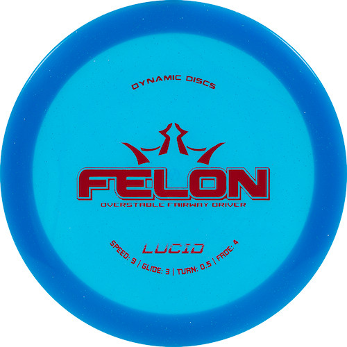 Dynamic Discs Felon - Lucid Line - | 9 | 3 | 0.5 | 4 | - Overstable