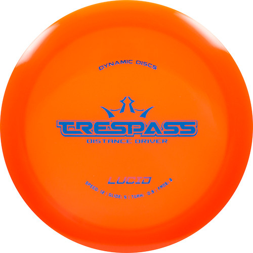 Dynamic Discs Trespass - Lucid Line - | 12 | 5 | -0.5 | 3 | - Overstable