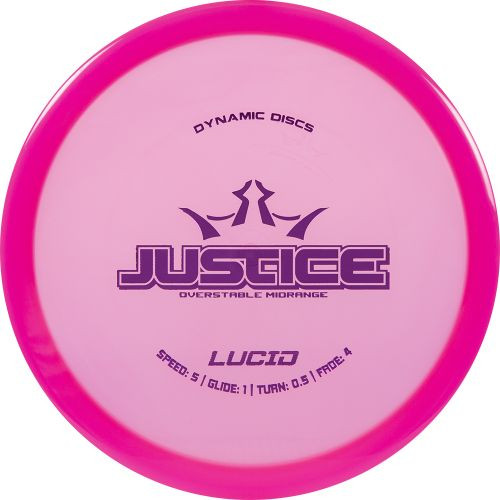 Dynamic Discs Justice - Lucid Line - | 5 | 1 | 0.5 | 4 | - Overstable