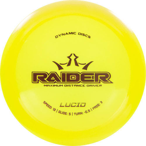 Dynamic Discs Raider - Lucid Line - | 13 | 5 | -0.5 | 3 | - Overstable