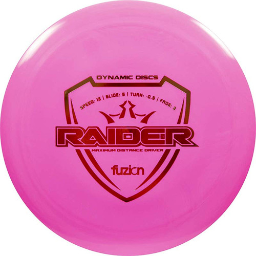 Dynamic Discs Raider - Fuzion Line - | 13 | 5 | -0.5 | 3 | - Overstable