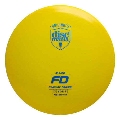 Discmania FD - S Line - | 7 | 6 | -1 | 1 | - Stable-Straight